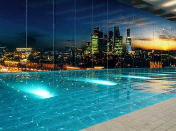 Собственный бассейн в ЖК Нескучный Home&Spa